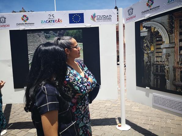 EU Fotoausstellung in Zacatecas