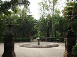 Pasea por el parque Benito Juárez