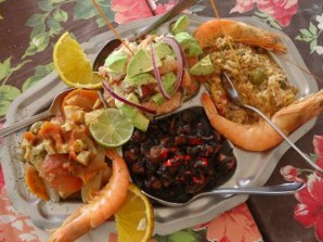 Come en los restaurantes del Malecón