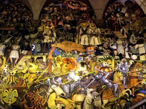 Date una vuelta por los murales del Palacio Nacional