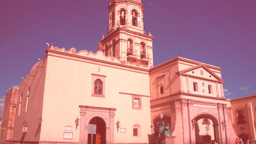 Templo y ex Convento de la Santa Cruz