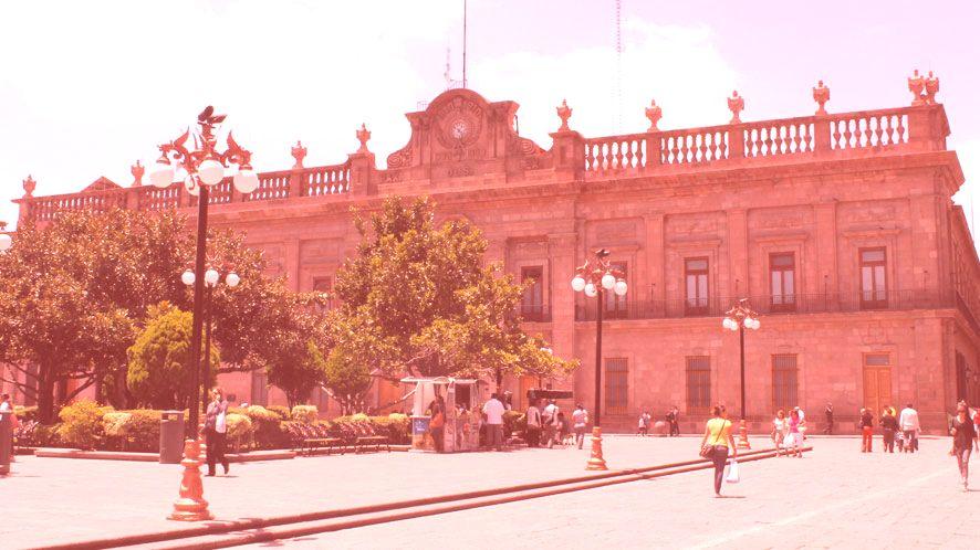 Städtischer Palast
