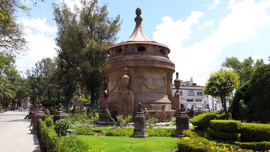Cajas de Agua, Conservera, La Conchita y Columnaria del Santuario.