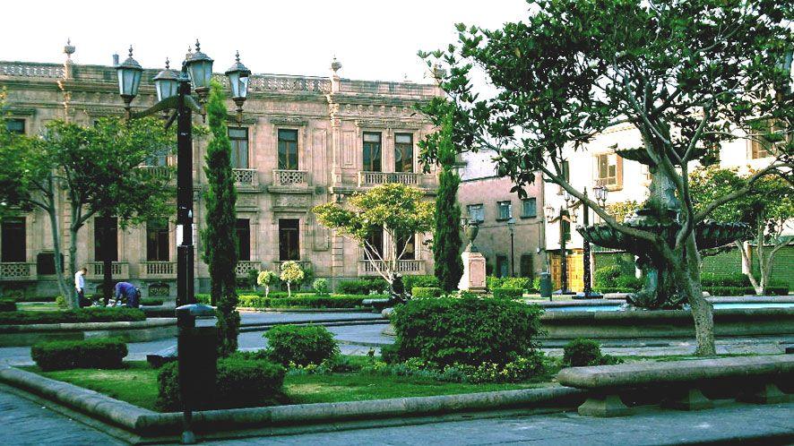 Jardín Hidalgo o Plaza de Armas