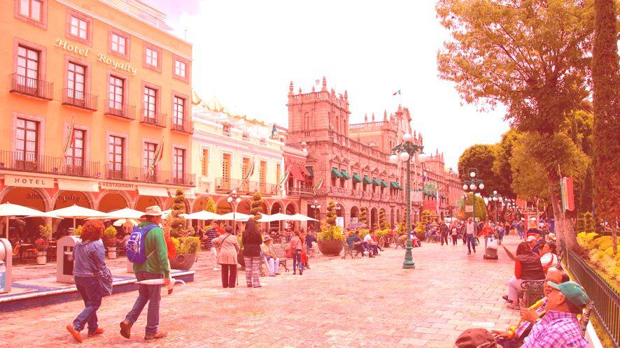 Zocalo von Puebla